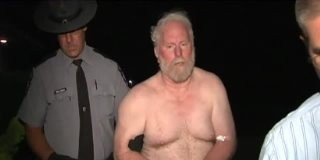 Mass Shooting Suspect Robert Newell Walk