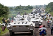 UN Intervention Brigade In Eastern Congo M23 Rebels