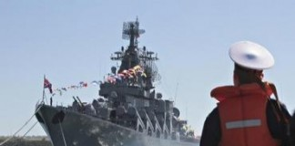 War in Syria: Russian Destroyer Enters Eastern Mediterranean