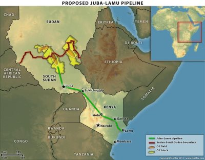 Uganda, Kenya To Build World's Longest Heated Oil Pipeline