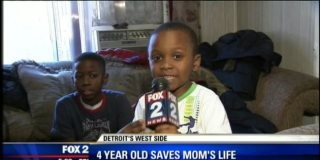 4 Year Old Hero Aiden Mitchell