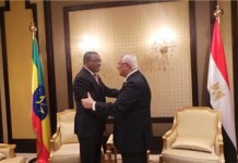 Ethiopian and Egyptian Leaders Meet Over Nile Dispute
