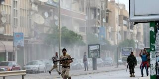 9 Killed As The Libyan Army Battles Militias In Islamist Benghazi