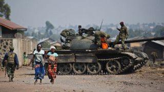 Fighting in Eastern DRC