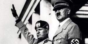 Hitler Mussolini Neo Fascists
