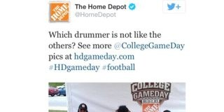 Home Depot Racist Tweet