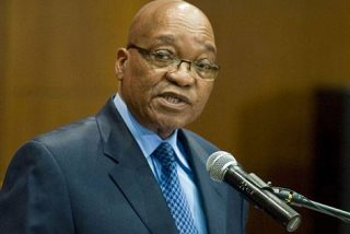 South African President Blame Striking Mine Workers