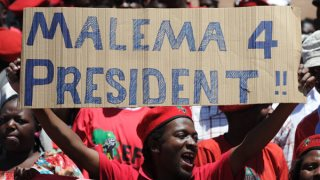 Julius Malema Economic Freedom Fighters