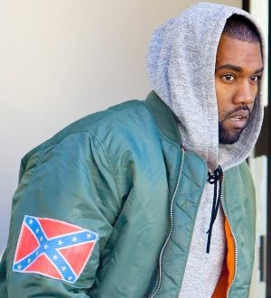Kanye West Wears Confederate Flag Jacket to Barneys Amid Controversy