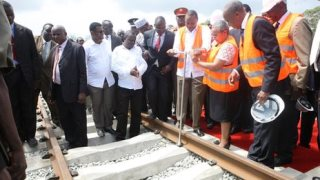 Kenya Launch Historic Railway Project
