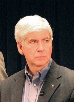 Michigan Governor Richard Snyder