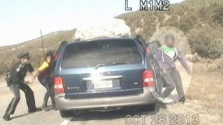 New Mexico Police Spray Minivan Full of African-American Kids With Bullets