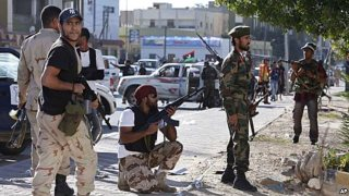 Heavy Fighting In Libyan Capital Tripoli