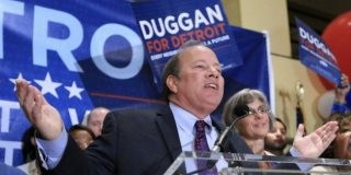 White Mayor of Detroit Mike Duggan