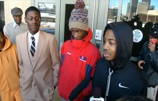 Black Students Arrested While Waiting For School Bus