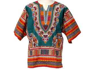 Dashiki woman