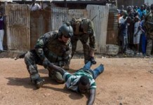 French Soldiers Raped African Boys