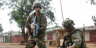 French Troops Cntral African Republic