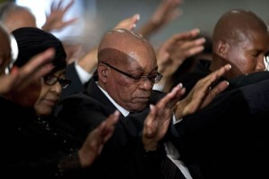 Jacob Zuma Booed Nelson Mandela Memorial