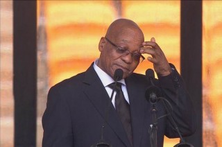 Jacob Zuma Booed