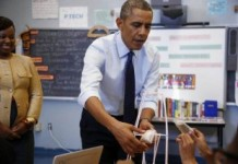 Obama Pushes Program To Turn Public Schools Over To Corporations