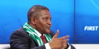 Aliko Dangote World Economic Forum