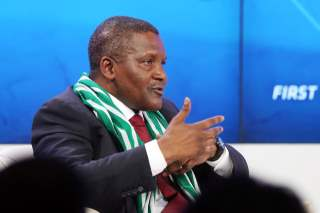 What Africa's Richest Man Aliko Dangote Told The World Economic Forum