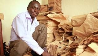 Andrew Mupuya Builds Successful Paper Bag Company With $14 Investment
