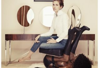Fashion Editor Sitting On 'Black-Woman Chair' Sparks Outrage