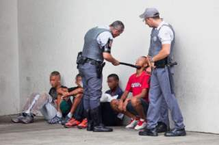 Brazilian Apartheid: Military Police Stop Black Youths From Entering Shopping Malls