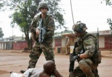 French Troops Central African Republic