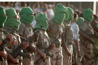 Libya Toubou Fighters (2)