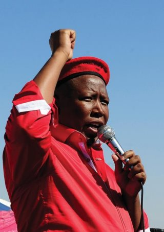 South Africans Support EFF Policies: Malema