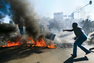 South Africa Service Delivery Protests (1)