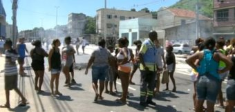 Black Woman Shot Then Dragged On The Ground Behind Military Police Vehicle In Brazil
