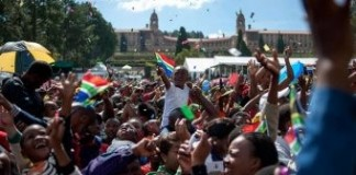 South Africa Marks 20 Years Of Freedom Ahead Of Election