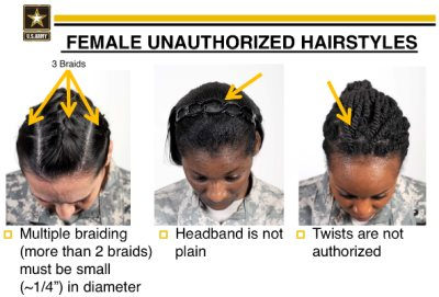 Black Lawmakers Ask Army To Reconsider New Hairstyle Rule