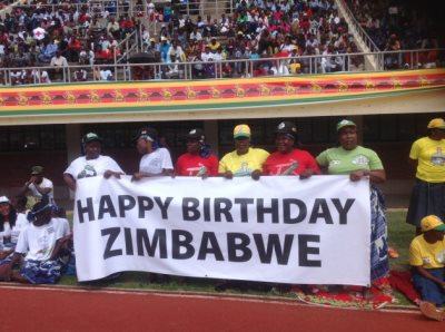 Happy Birthday Zimbabwe