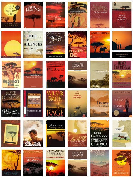 The Reason Every Book About Africa Has The Same Cover— And It's Not Pretty