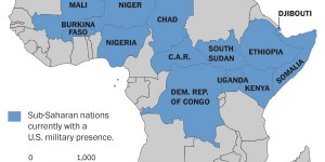 surprising map shows all the african countries where the u s has active military operations