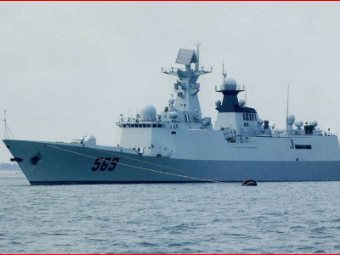 Chinese Warships Arrive In Nigeria
