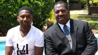 Father And Son Graduate From College Together