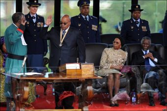 Jacob Zuma Sworn In For Second Term As President Of South Africa