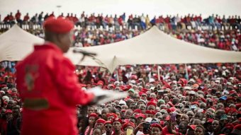 Economic Freedom Fighters On The Rise In South Africa