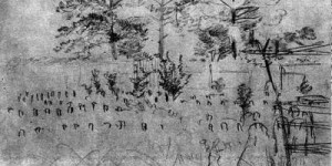 Martyrs Of The Race Course Drawing