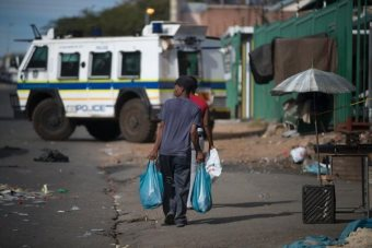 South Africa Police Deploys Army To Quell Post- Election Violence