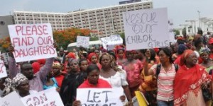 Protest For Kidnapped Nigerian Schoolgirls (1)