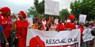 Nigerians Demand Government Do More To Bring Home Kidnapped Schoolgirls
