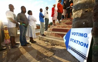 South Africans Vote In General Election