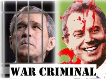 Bush, Blair Should Be Prosecuted For War Crimes
